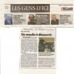 Article dans le journal