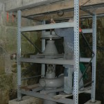 La première mesure de vitesse de la turbine
