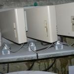 Les 3 radiateurs de charge